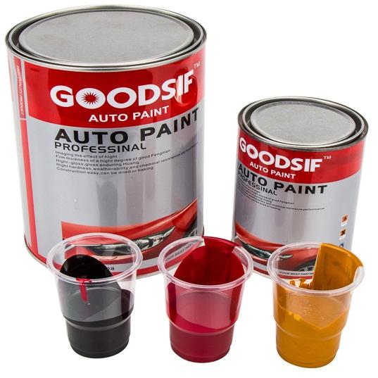 汽车油漆涂料