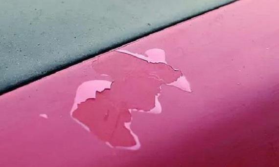 汽车油漆脱落